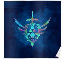 Skyward Sword Blue Poster