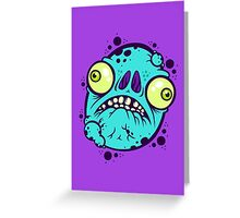 Herp Derp Greeting Card