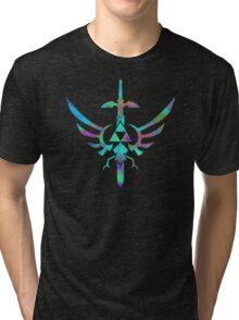 Skyward Sword Blue Alt Tri-blend T-Shirt