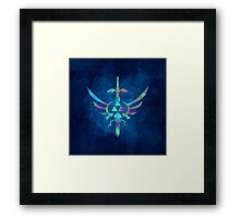 Skyward Sword Blue Alt Framed Print