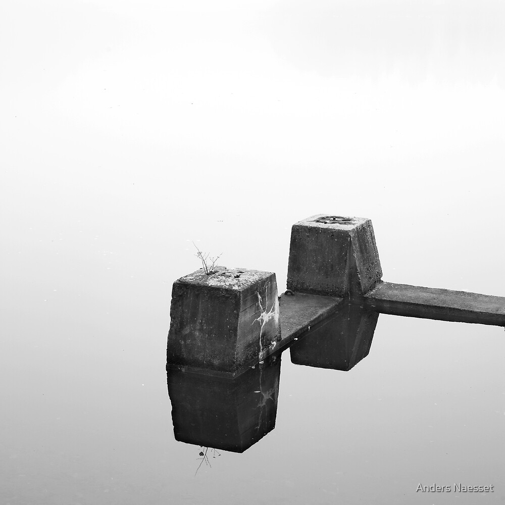 Concrete, Fog and Water by Anders Naesset
