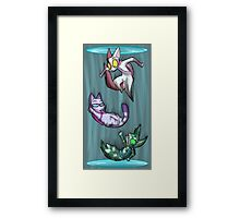 Fighting Dreamers- Thinking With Portals Framed Print