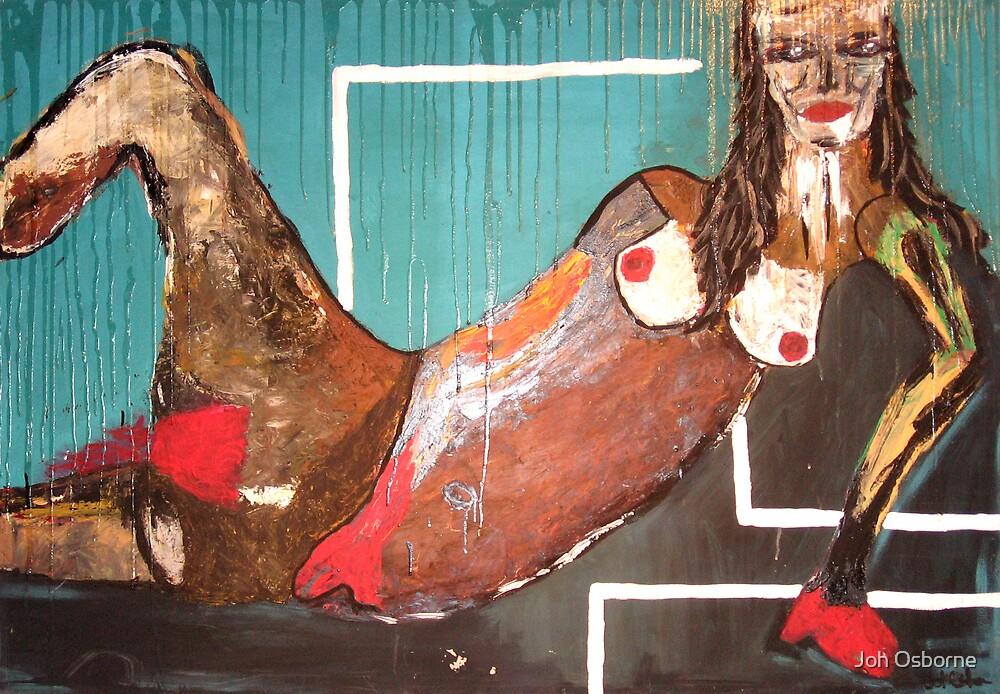 Lady In red by Joh Osborne