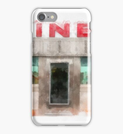 Classic Americana Diner iPhone Case/Skin