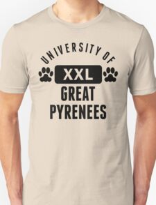 University Of Great Pyrenees T-Shirt