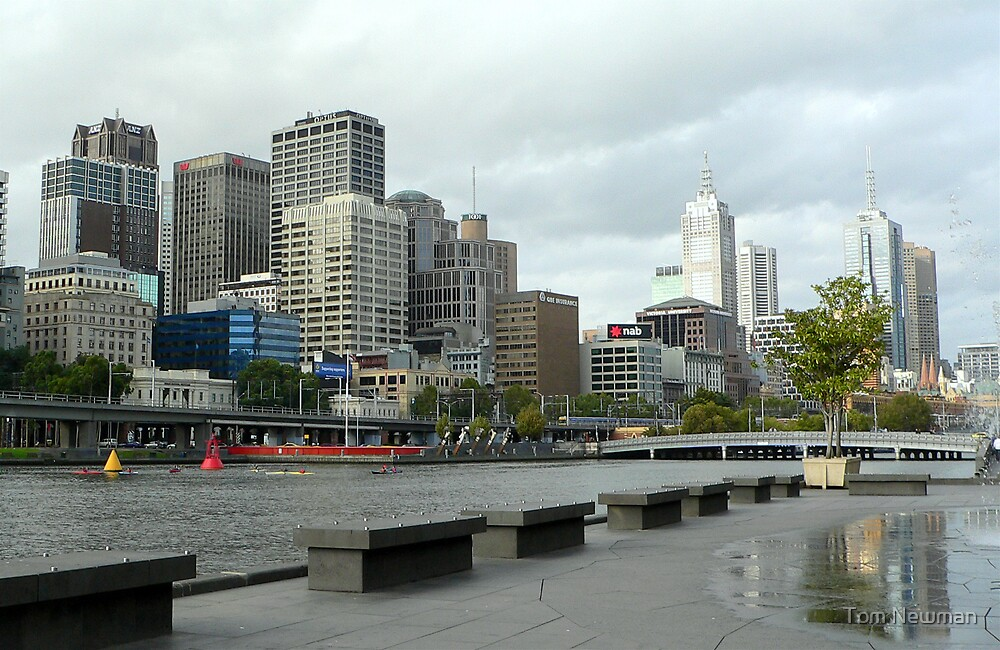 Yarra River Melbourne by Tom Newman