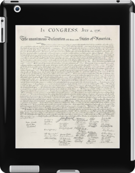Declaration of Independence, United States of America, American Independence,USA by TOM HILL - Designer
