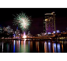 Crown Casino 10th Anniversary Celebrations Photographic Print