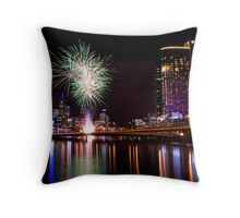 Crown Casino 10th Anniversary Celebrations Throw Pillow