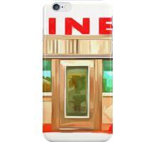 Classic Americana Diner Pop iPhone Case/Skin