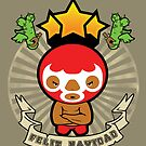 Merry Christmas - Mexican Wrestler  by BigFatRobot