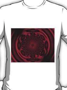 Mandala of the Sun in Scarlet I  T-Shirt