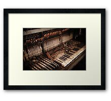 Out of Tune Framed Print