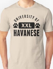 University Of Havanese T-Shirt