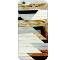 Aztec Tribal Wood Texture Print Design iPhone Case/Skin