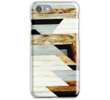 Aztec Tribal Wood Texture Print Design iPhone Case/Skin