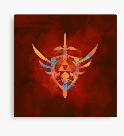 Skyward Sword Orange Canvas Print