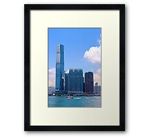 The Other Side of the River II - Hong Kong. Framed Print