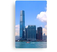 The Other Side of the River II - Hong Kong. Canvas Print