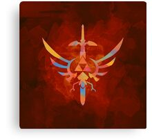 Skyward Sword Orange Alt Canvas Print