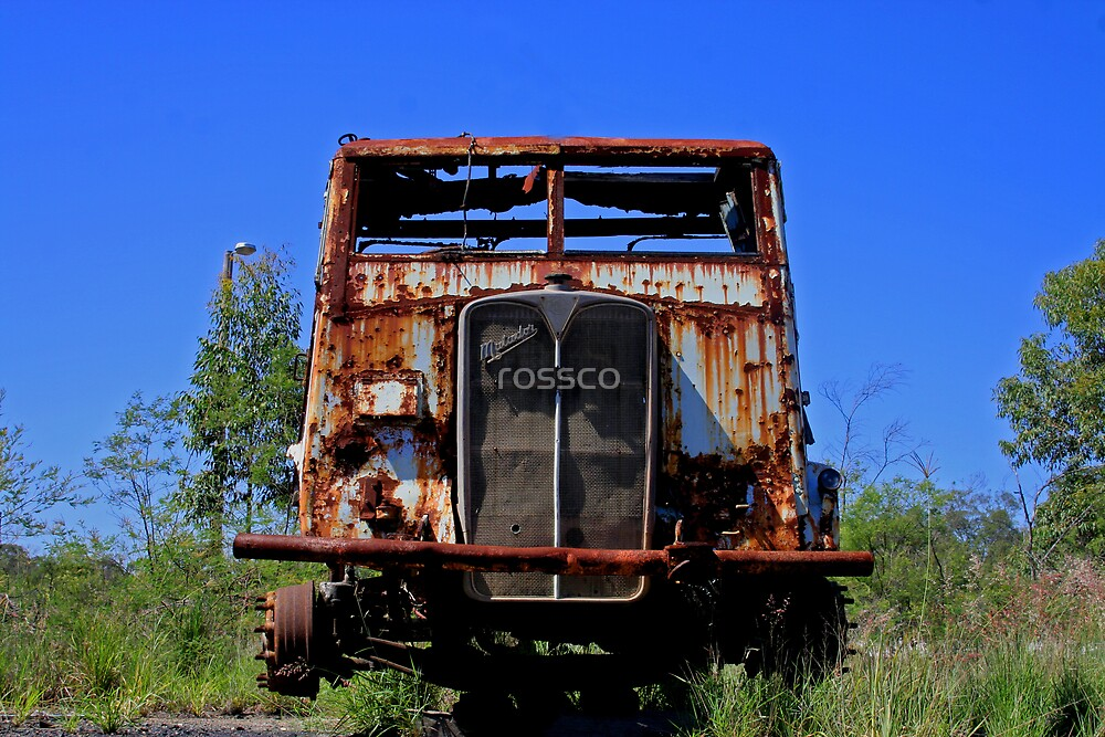 Tired & Rusted by rossco