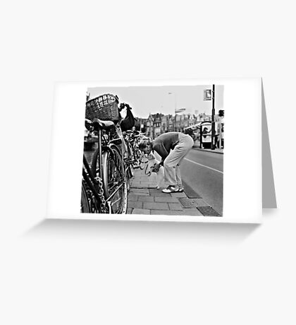 going for a ride Greeting Card