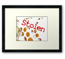 STOLEN PICTURE!!! Framed Print