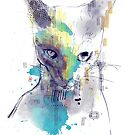graphic cat by frederic levy-hadida
