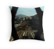 Sleeping train 2 Throw Pillow