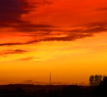 Sunset of Red by John Gilluley