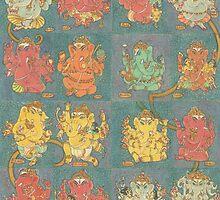 Ganesha by Swagavad-Gita