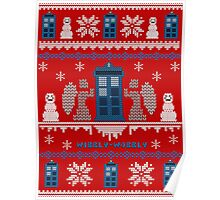 Who-liday Sweater Poster
