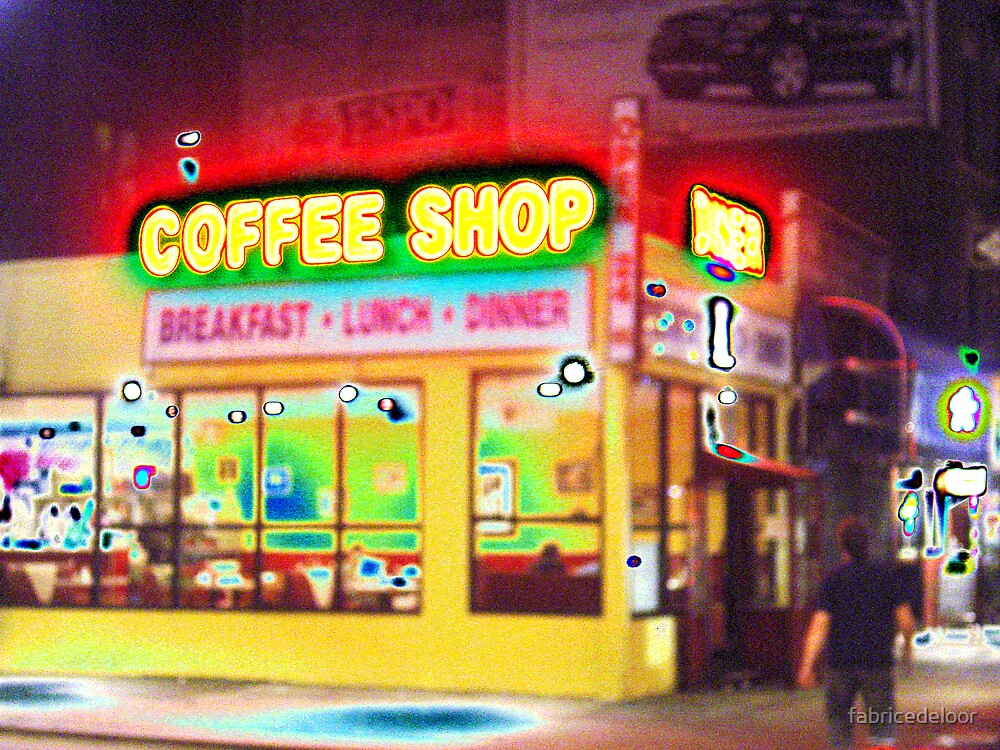 Coffee Shop # 02 by fabricedeloor
