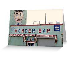 Asbury Park, NJ - The Wonder Bar Greeting Card