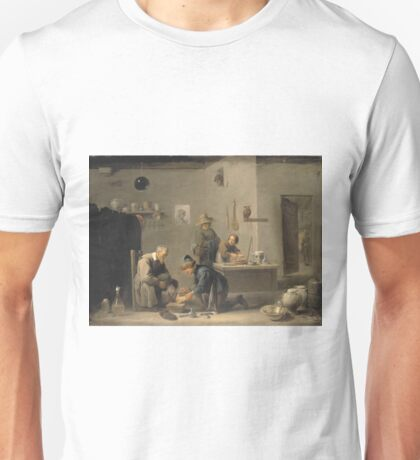 David Teniers The Younger - 1 At The Village Doctors 1636 Unisex T-Shirt