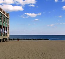 Asbury Park, NJ - The Boardwalk- Convention Hall by AnneRN