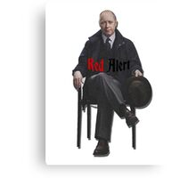 Raymond 'Red' Reddington - Red Alert Print Canvas Print