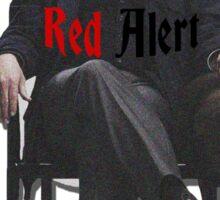Raymond 'Red' Reddington - Red Alert Print Sticker