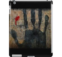 My life is slipping through my fingers. iPad Case/Skin