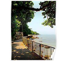 The Sea walk - Hong Kong. Poster
