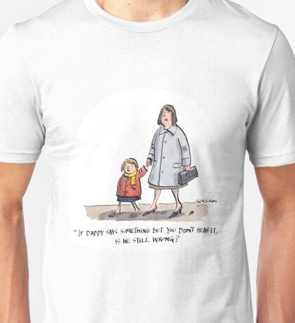 Wrong Unisex T-Shirt