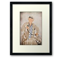 Emmett Brown Framed Print