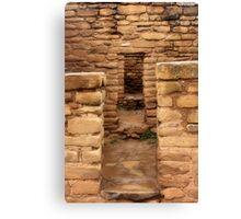 Doorways to the Past Canvas Print