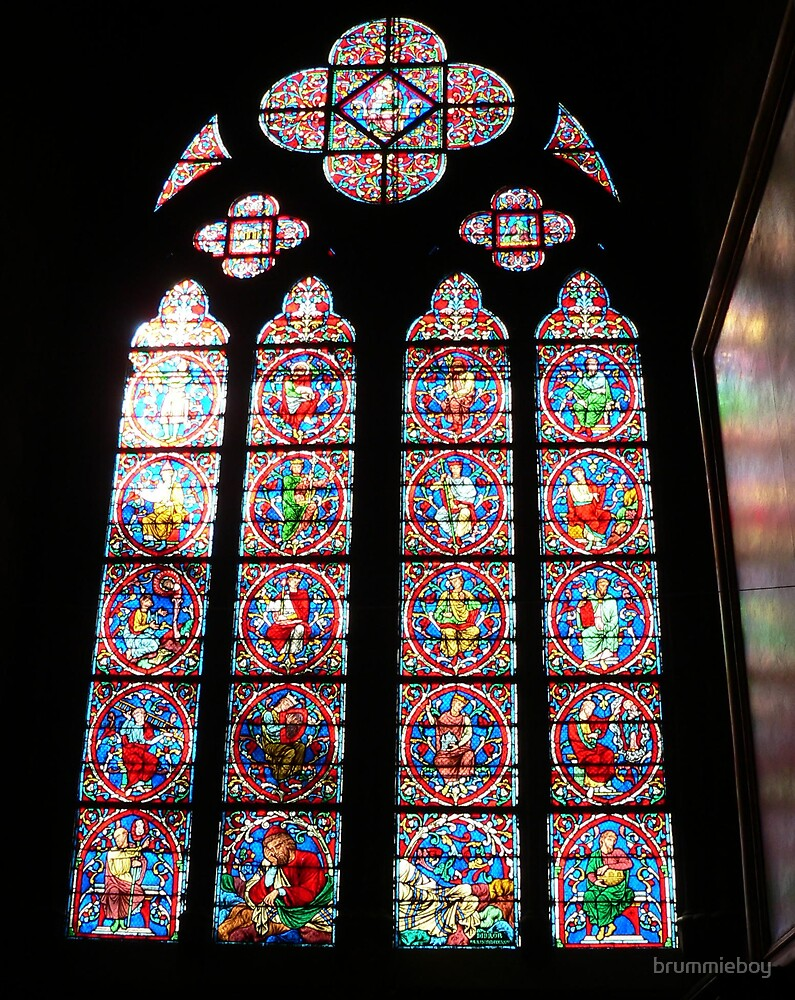 Inside Notre Dame... by brummieboy