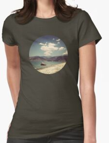 seaside2 Womens Fitted T-Shirt