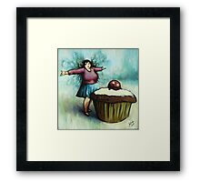 The Fairy of Cakes Framed Print