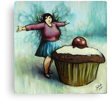 The Fairy of Cakes Canvas Print