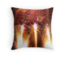 Fountains Of Fire Throw Pillow