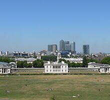 Across Greenwich Park ..... by brummieboy