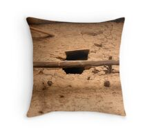 Second Floor Throw Pillow
